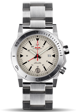 H-61 Silver-Tan Dial-Stainless Steel Band